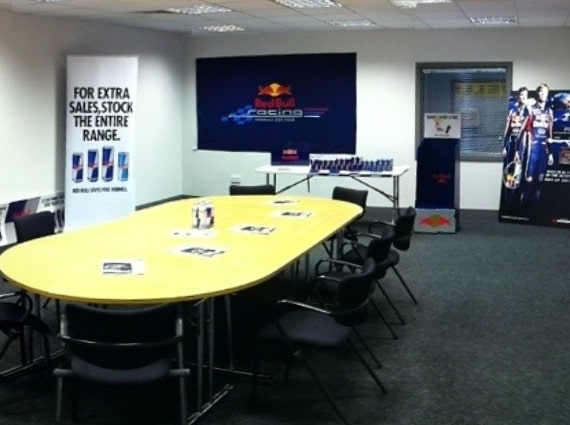 Red Bull Corporate room