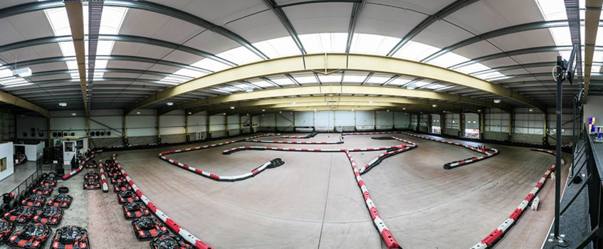 Xtreme Karting Edinburgh track layout