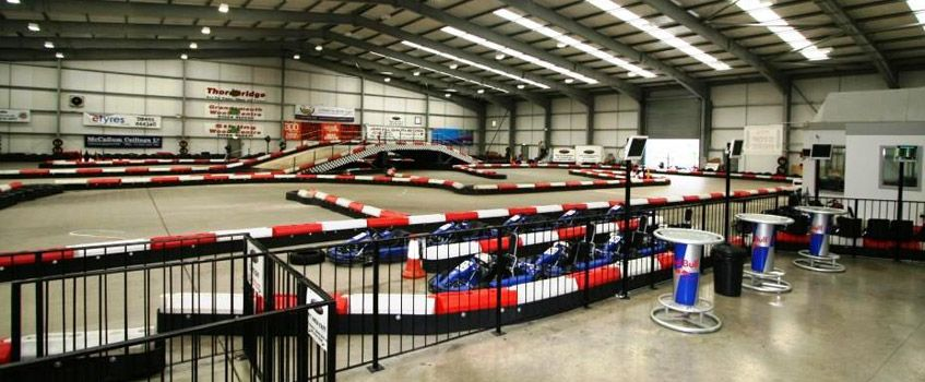 Xtreme Karting Facilities  5 Star Centre in Scotland near