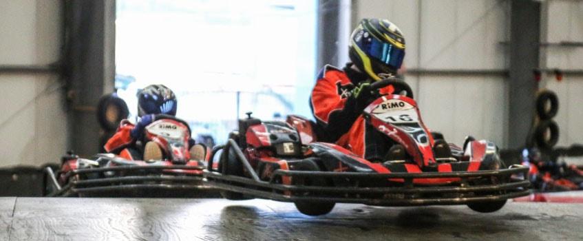 xtreme karting falkirk bridge jump