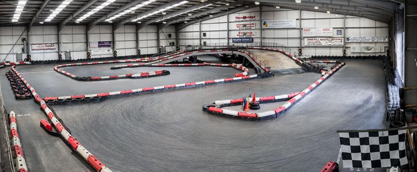 xtreme karting falkirk track layout