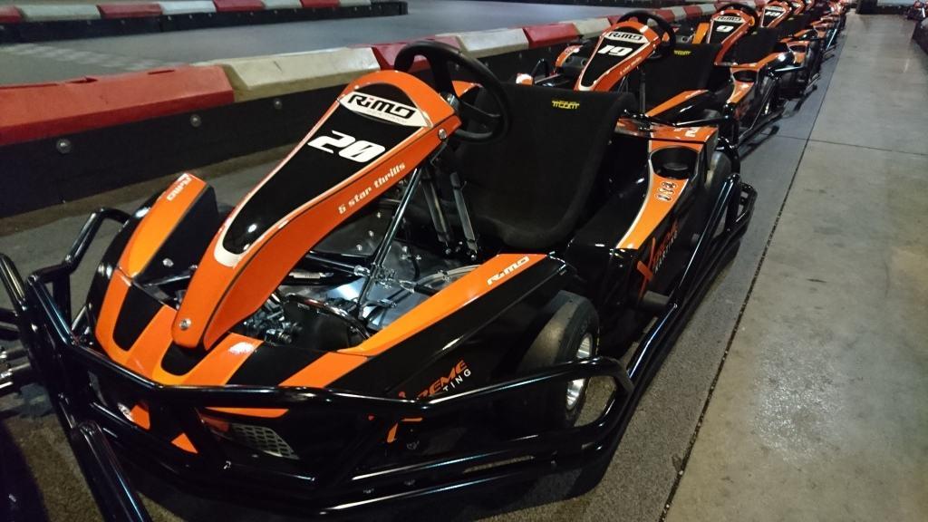 new evo 6 karts in pits web