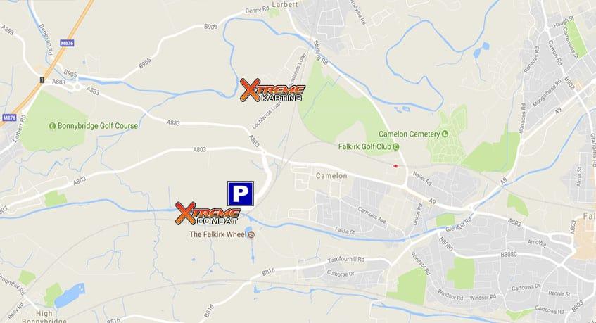 Falkirk Wheel Laser Tag Location Xtreme Karting